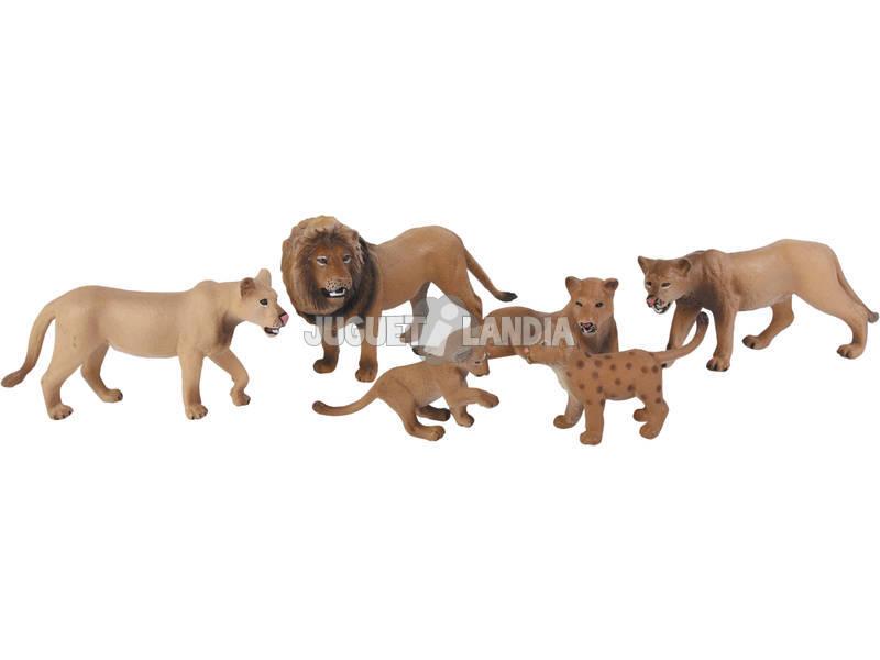 Leões Set 6 Peças