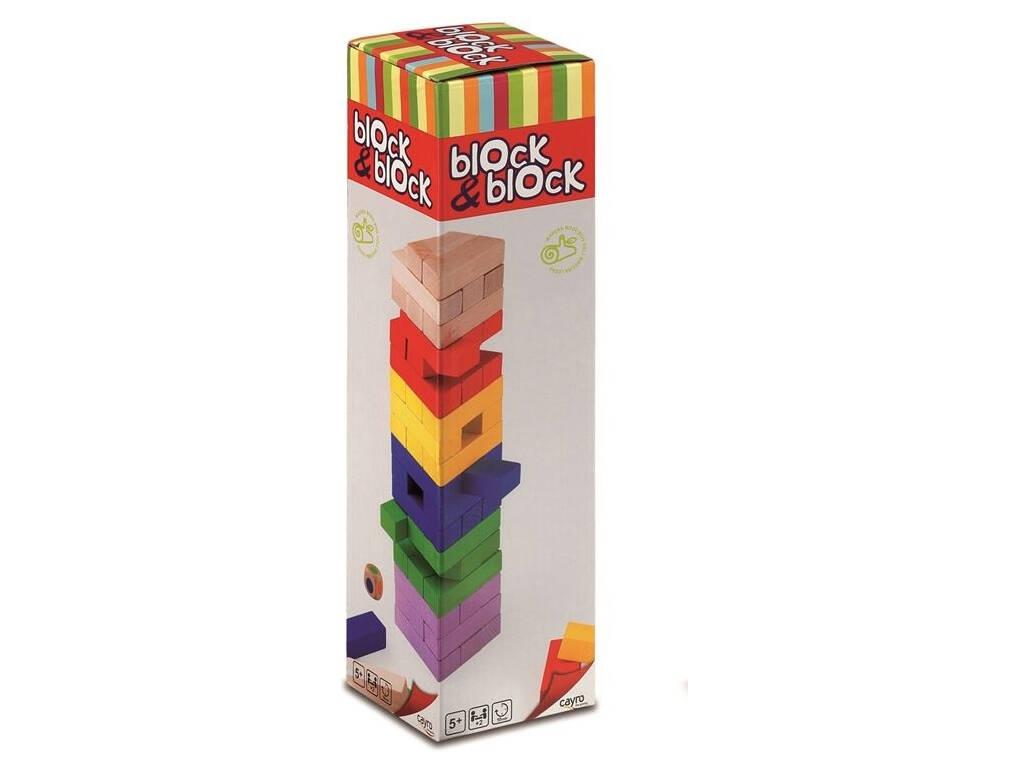 Block & Block Colores 54 Piezas