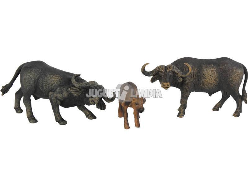 Búfalos Set 3 piezas