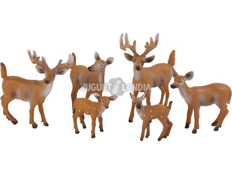 Ciervos Set 6 piezas