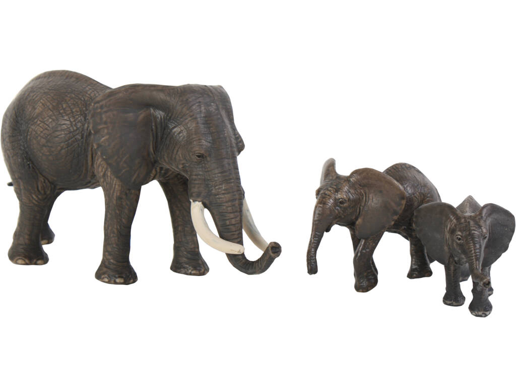 Elefanti set 3 pezzi