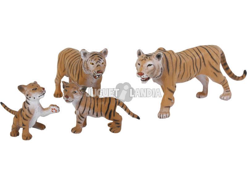 Tigres Set 4 piezas