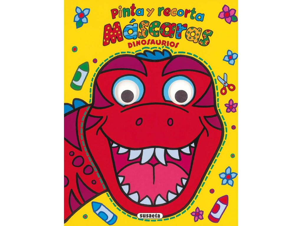 Libro Pinta y Recorta Máscaras Susaeta S2468
