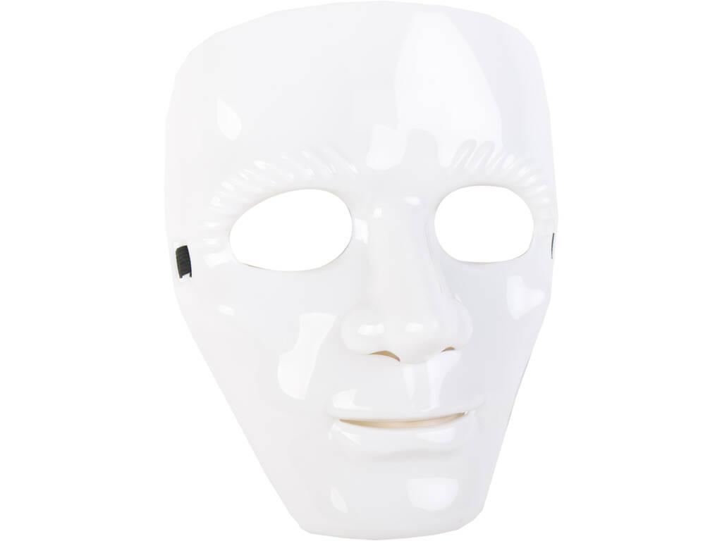 Máscara Blanca 18.5X23.5 cm.
