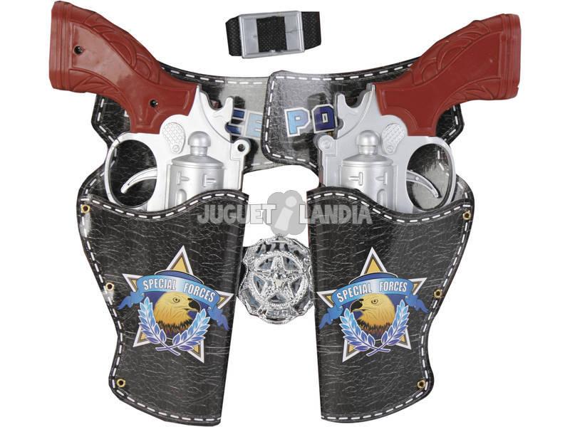 Set Polícia 6 Peças