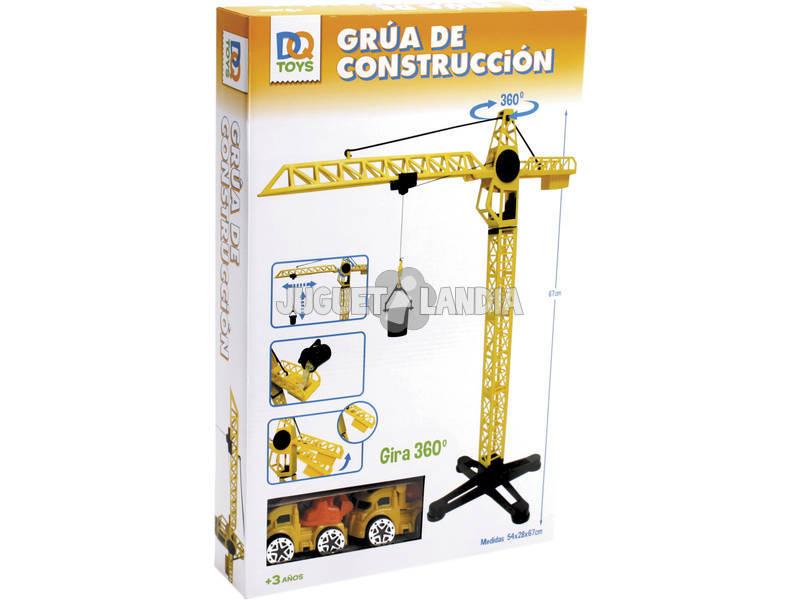 Grúa De Construcción 67 cm. Con 2 Vehículos