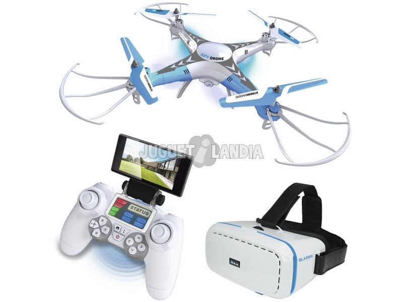 Radio Control Spy Drone Con Wifi y Gafas Teledirigido