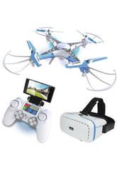 Radio Control Spy Drone Con Wifi y Gafas