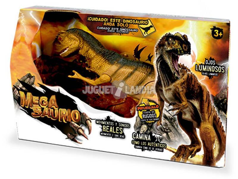 Megasaurio T-Rex, Movimientos, Luces y Sonidos World Brands 80041A