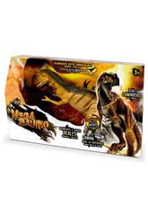 Dinosaurio T-Rex, Movimientos, Luces y Sonidos World Brands 80041A