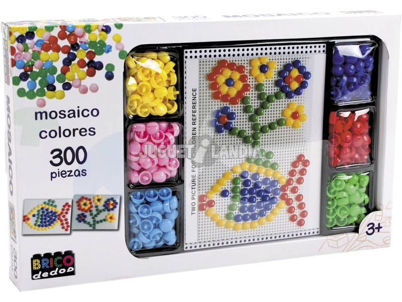 Mi Primer Mosaico Colores con 300 Piezas