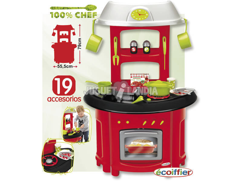 Cocina de juguete 100 chef juguetilandia - Cocina de juguete ...