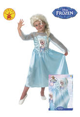 Déguisement Fille Elsa avec perruque T-M