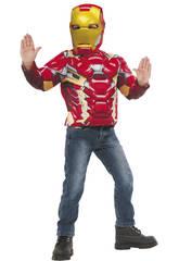 Disfraz Iron Man Poitrine Musclée
