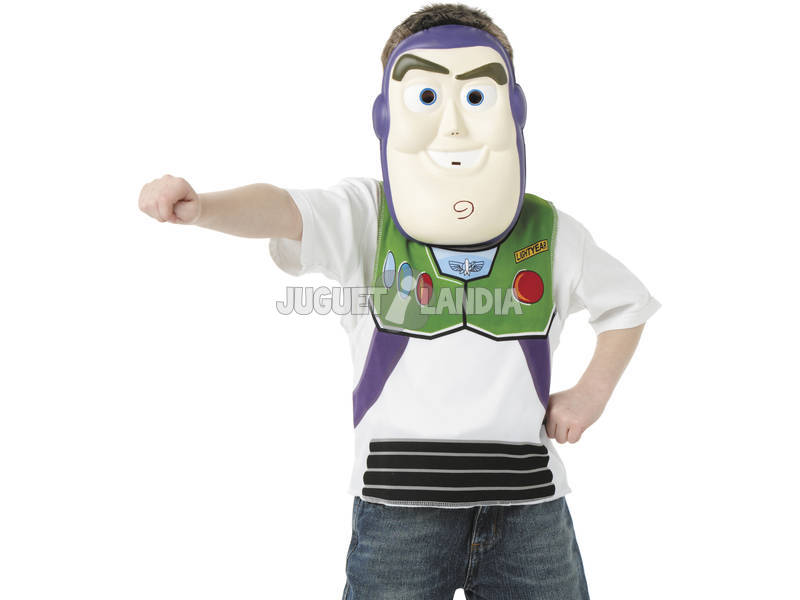 Set Buzz Lightyear con mascara T-M