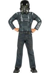 Disfraz StarWars Death Trooper Pecho Musc y Masc T-M