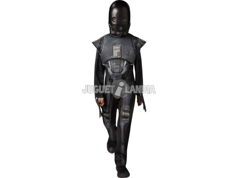 Costume Bimbo Star Wars Deluze K-2SO L Rubies 630501-L