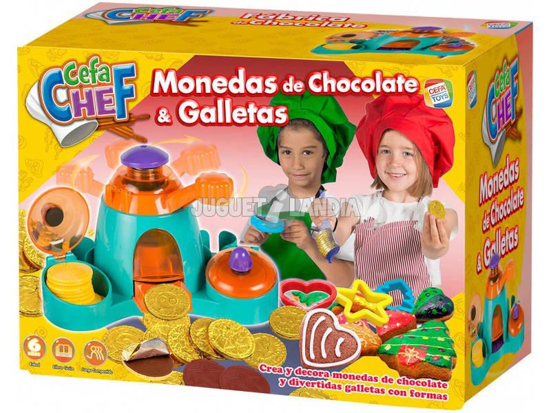 Cefachef: Monedas De Chocolate y Galletas