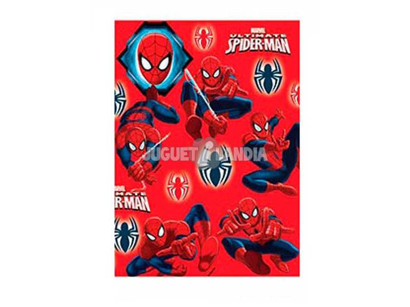 Papel de Regalo Spiderman 200 x 70 cm.