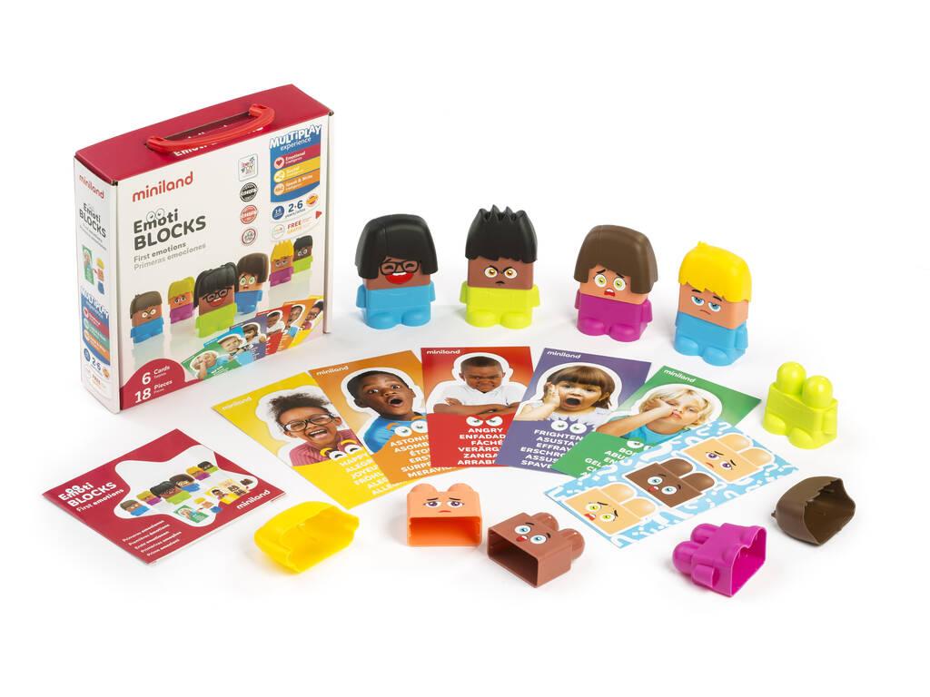 Emotiblocks: Primeras Emociones Miniland 32350
