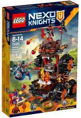 Lego Knights Máquina de Asedio Infernal Magmar