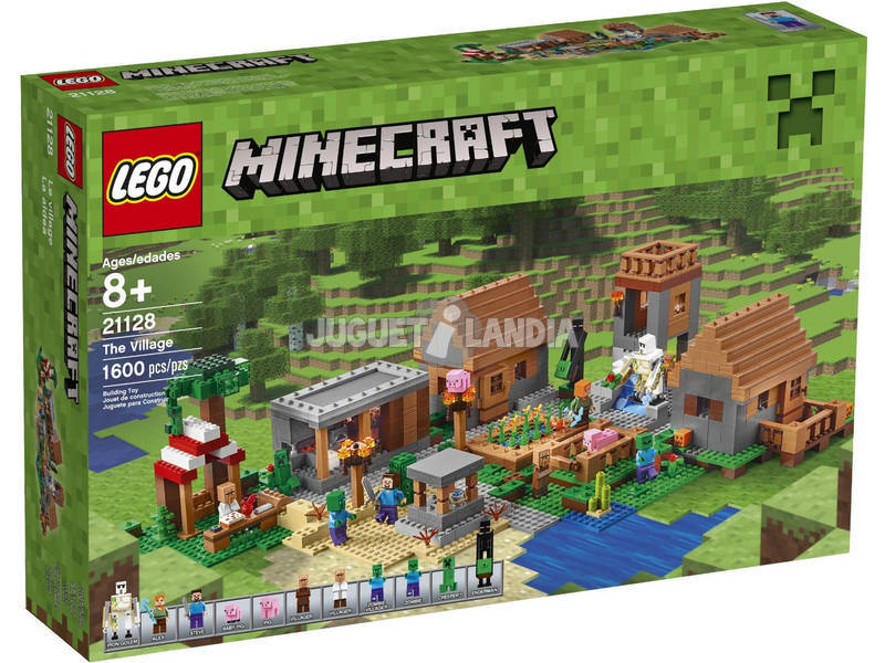 Lego Minecraft La Aldea 21128