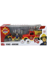 Fireman Sam Set Quad Mercury + Venus Avec Figurine