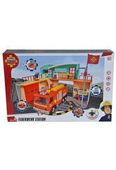 Fireman Sam Nueva Estación Con Figura