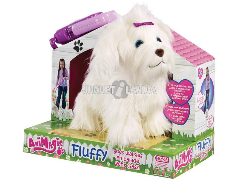 Perrito paseos Fluffy