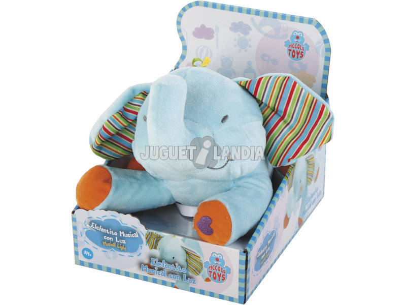 Elefante Musical Con Luz