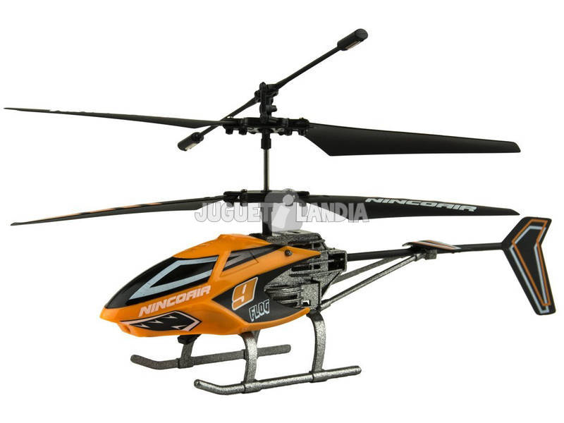 Comando Nincoair Helicóptero Alu-mini Flog Ninco NH90100