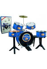 Goldene Schlagzeugbatterie