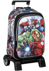 Day Pack Con Soporte Avengers Alliance