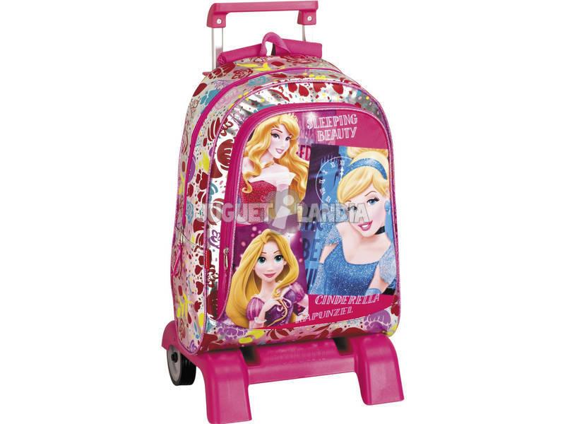 Day Pack Com Suporte Princesas Disney