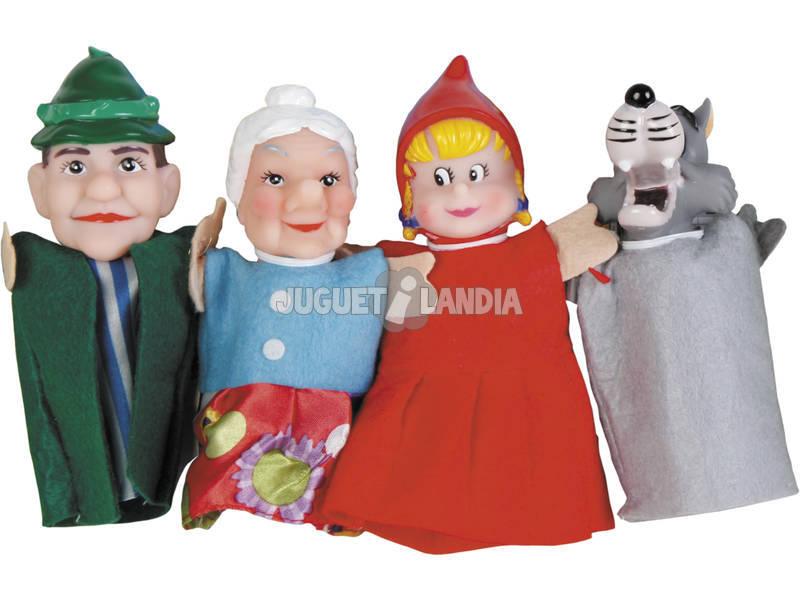 4 Marionetae Dedos Contos Infantis