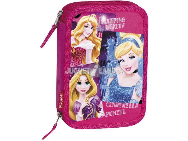 Plumier 12 Doble Princesas Disney