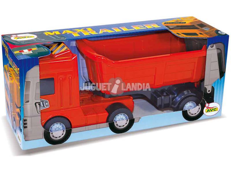 Maxi trailer rosso
