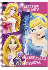 Bloc A4 80 Hojas Princesas Disney