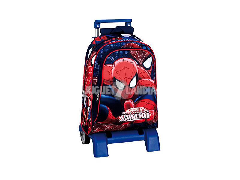 Day Pack Con Soporte Spiderman