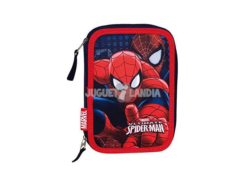 Plumier 12 Doble Spiderman
