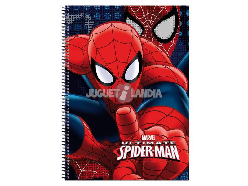 Quaderno A4 80 Fogli Spiderman