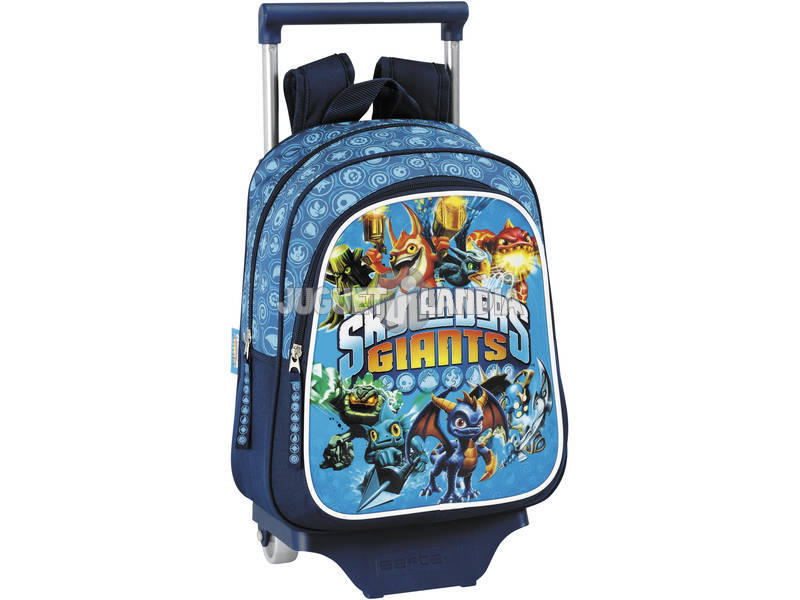 Skylanders mochila infantil con ruedas