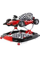 Andador Rojo 3 en 1 Fórmula 1 Actividades