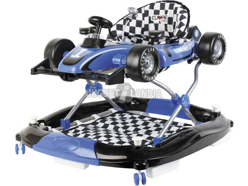 Andador Azul 3 en 1 Fórmula 1 Actividades