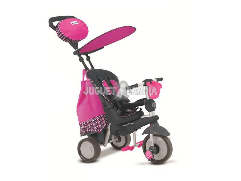 Triciclo Smart Trike Splash 5 em 1 Rosa
