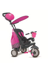 Triciclo Smart Trike Splash 5 en 1 Rose