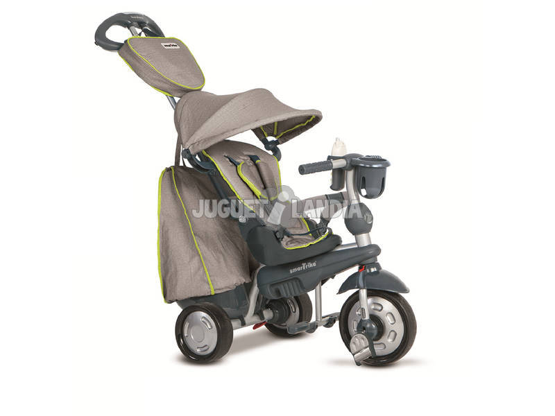 Triciclo Smart Trike Explorer 5 in 1 Grigio