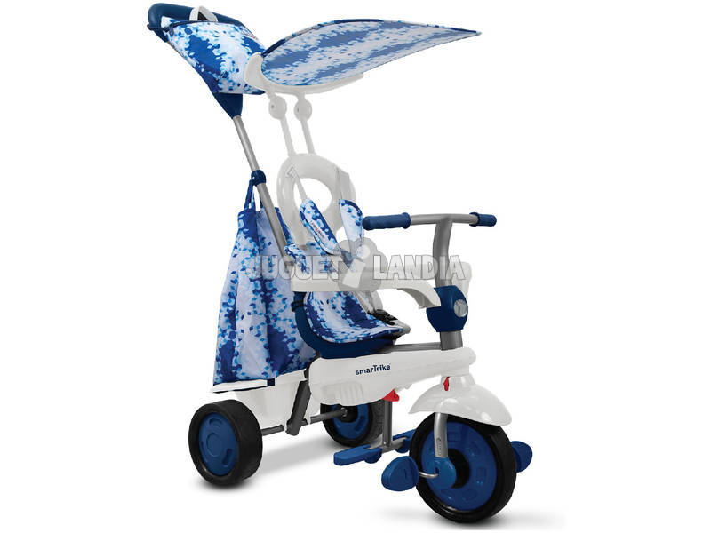 Carrinho Smart Trike Spirit 4 em 1 Azul