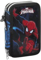 Plumier Doble 34 Spiderman Go Spidey