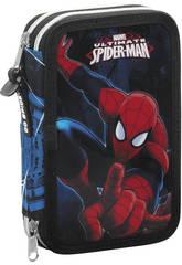 Plumier Doble 34 Spiderman Go Spidey